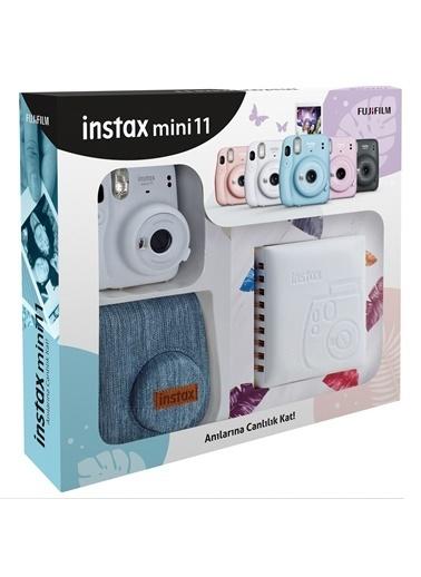 Fujifilm Instax mini 11 Jean Çantalı Beyaz Kit Beyaz